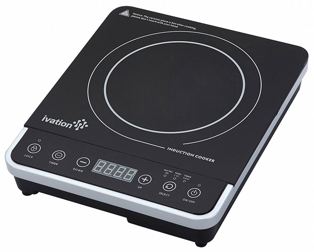 Countertop Induction Burner : ... ????? Ivation Induction Countertop Cooktop Burner