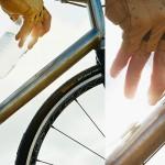 Велосипедная бутылка Fabric Water Bottle, которой не нужен фиксатор