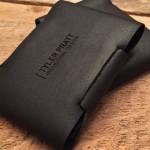 Кожаный кошелек Stitchless Wallet без швов
