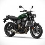 Олдскул-мотоцикл Yamaha XSR700