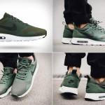 Минималистичные кроссовки Nike Air Max Tavas в цвете «зеленый карбон»