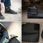 Черные кроссовки Nike SB Blazer