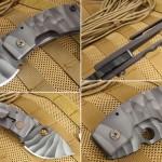 Складной нож Crusader Forge Apex 3D как танк