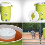 Кулер Double Cooler с отдельными контейнерами для льда и напитков