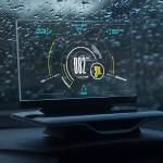 Прозрачная приборная смарт-панель Exploride для автомобиля