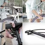 Встраиваемый в подседельник велозамок Interlock