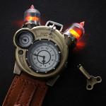 Наручные ламповые часы Tesla Watch