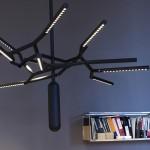 Минималистичная люстра Branch Chandelier с 28 источниками света