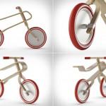 Деревянный велосипед Brum Brum из четырех частей