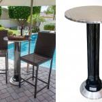 Столик AZ Patio Electric Table со встроенным обогревателем