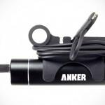 Фиксатор кабеля ClipCHARGE для цилиндрических повербанков