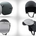 Классический шлем Electric Mashman с крутой ветрозащитой