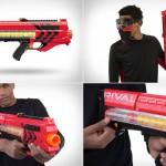 Игрушечный автомат Nerf Rival Zeus MXV-1200 Blaster для взрослых