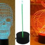 Лампа Playtime 123 3D Light с оптической иллюзией