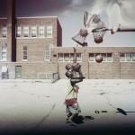 Портативная баскетбольная сетка BlackNet