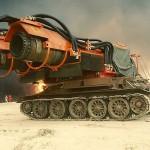Самая мощная в мире пожарная машина Big Wind с двумя турбинами от МиГ-21