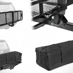 Складной багажник Direct Aftermarket FC6020+B5820 на фаркоп авто
