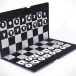 Минималистичные и плоские шахматы в дорогу