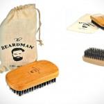 Щетка для бороды и волос The Beardman Beard & Hair Brush из шерсти хряка