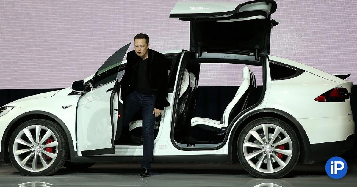 Представлен Tesla X. Теперь кроссовер