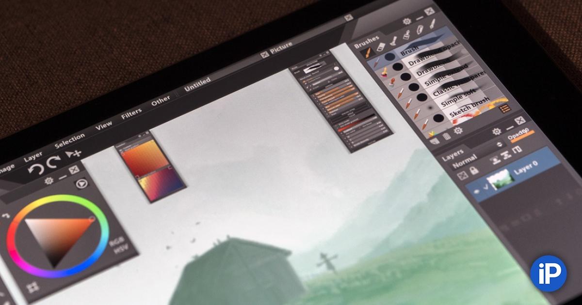Обзор Paintstorm. Как Photoshop для iPad, но с полноценным ...