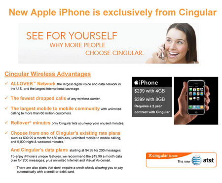iPhone Cingular