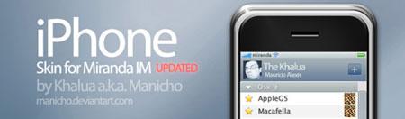 Miranda iPhone skin