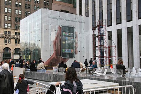 iPhone NY ads