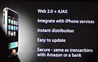 AJAX for iPhone
