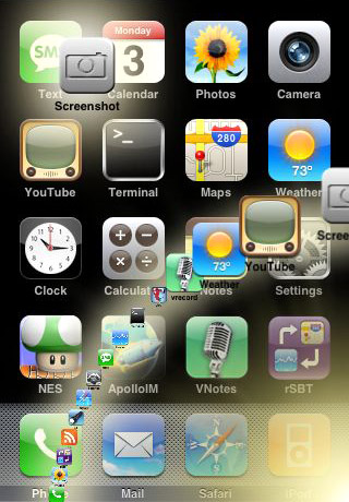 Dock iPhone скриншоты, screenshots