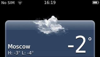 Температура в Москве
