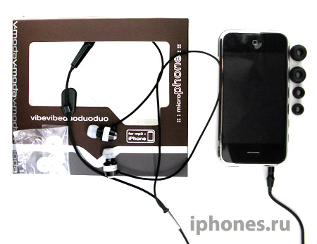 V-Moda Vibe Duo for iPhone