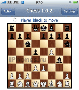 Chess. Шахматы на iPhone