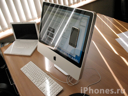 iPhone and iMac