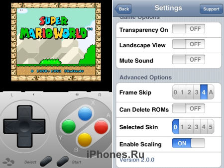 SNES4iPhone 2.0