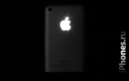 iPhone и горящее Яблочко