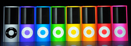 iPod Nano colors