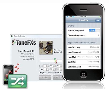 ToneFXs. Управление звуками на iPhone