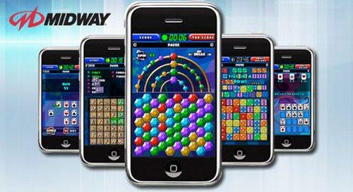 Midway анонсировала пять игр для iPhone