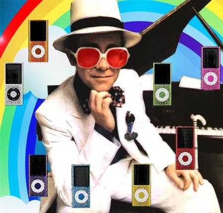 Элтон Джон любит музыку. И наоборот