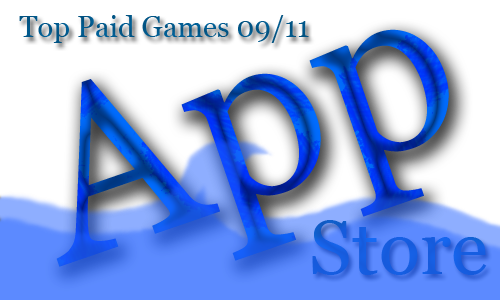 TOP 10 Paid Games. Неделя №11