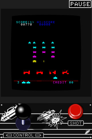 Space Invaders iPhone