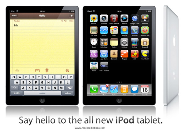 ipod tablet
