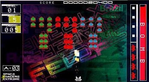 Space Invaders PSP