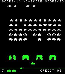 spaceinvaders gameplay