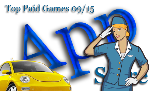 TOP 10 Paid Games. Неделя №15