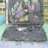 ноутбук сгорел
