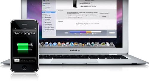 Синхронизация iTunes с iPhone/iPod без проводов