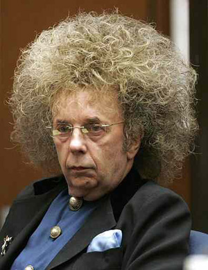 phil spector frizz