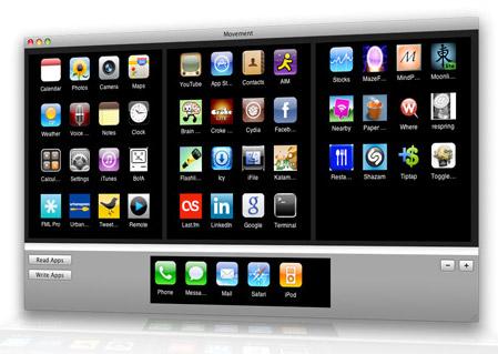 Movement: управление рабочим столом iPhone
